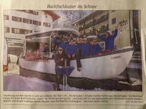 Backfischkutter in Lech am Arlberg 2017